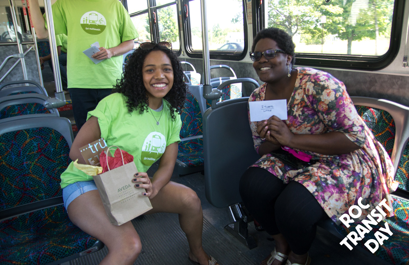 ROC Transit Day is more than just a bus ride... you get to bask in the Rochester funshine.
